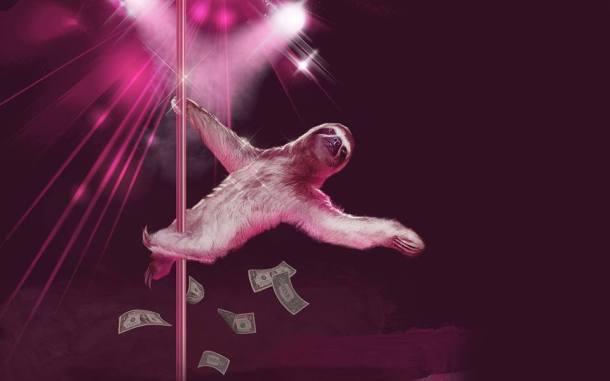 sloth stripper