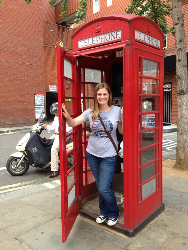 Obligatory red phone booth