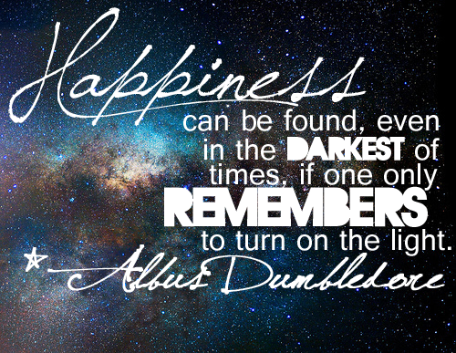 happiness dumbledore