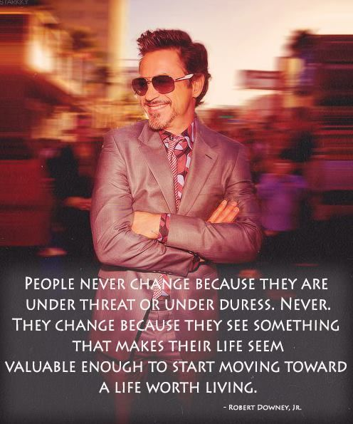 rdj on change