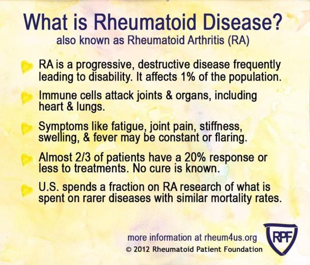 what is rheumatoid disease